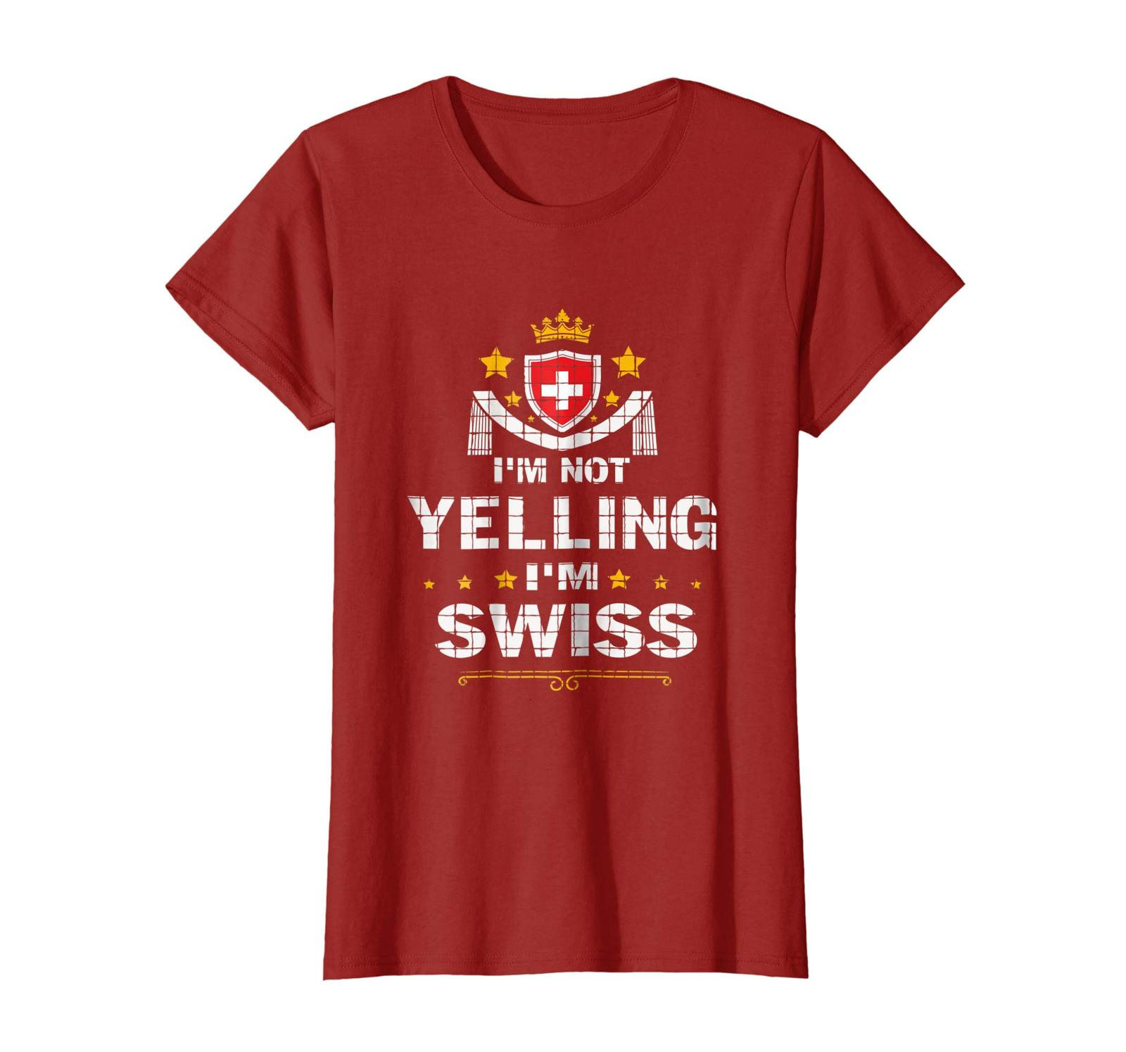 Primary image for New Shirts - I_m Not Yelling I_m Swiss Shirt Wowen