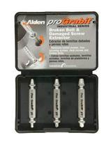 Alden 8430P Pro Grabit Broken Bolt and Damaged Screw Extractor 3 Piece Kit - $39.58