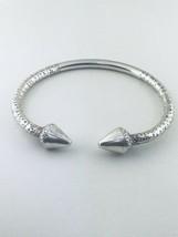 """Argent Sterling Double Clous Bracelet Rigide 9"""" Pouce #52 - $105.91"""