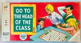 Go to the Head of the Class Board Game Vintage 1967 Milton Bradley Complete - $33.85