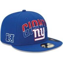 New Era 59FIFTY NFL New York Giants On The Field Football Hat Cap Sz 7 5/8 - £14.46 GBP
