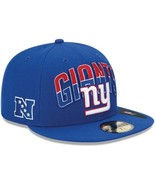 New Era 59FIFTY NFL New York Giants On The Field Football Hat Cap Sz 7 5/8 - $20.00
