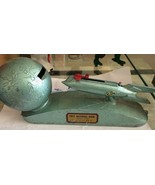 Strato Rocket Ship 1950s vintage Mechanical Bank - $371.25