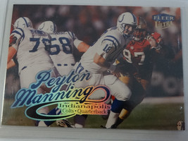 1999 Fleer Ultra #15 Peyton Manning Indianapolis Colts Football Card - $1.50