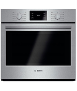 "Bosch HBL5451UC 500 Series 30"" Single Electric Wall Oven Stainless Steel - $1,930.45"