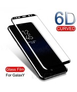 6D Curved Screen Protector Glass For Samsung Galaxy 7edge S8-S9 Plus Not... - $4.99