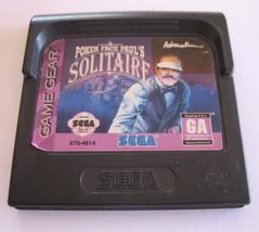 Poker Face Paul's Solitaire (Sega Game Gear, 1994) - $3.17