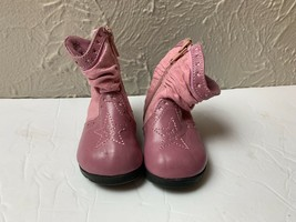 Faded Glory Pink Slouch Boots Toddler Size 3 - $9.46