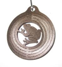 FROG Mini Spinner Key Ring Keychain Steel Swivels New - $8.90