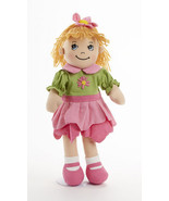 "Sweet Delton Apple Dumplin Petal Cloth Doll in Pink & Green Dress, 14""  4191-9 - €20,75 EUR"