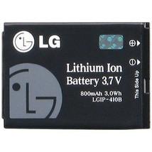 LG LGIP-410B OEM Cell Phone Battery for VX-7100 GLANCE - $10.90