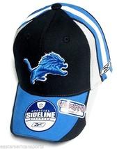 Detroit Lions NFL Reebok Sideline YOUTH Hat Cap Multi Color Flex Fit Fit... - €13,32 EUR
