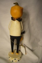 Bethany Lowe Pumpkin Head Figure Halloween image 2