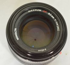 Minolta AF 50mm f/1.4 AF RS camera lens Sony Alpha A-mount image 8