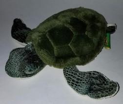"Wild Republic Green Turtle Tortoise Plush Stuffed Animal 8.5"" Toy - $14.46"