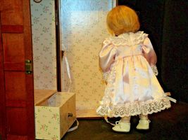 12 inch Porcelain Doll with her Own Closet AA-191991  Collectible image 7