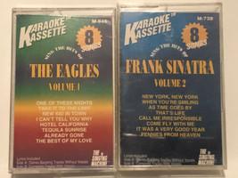 Eagles & Frank Sinatra Cassette Tape Karaoke Kassette - $6.92