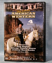 The Great American Western - Vol. 32 - 4 Movies DVD  - $8.75