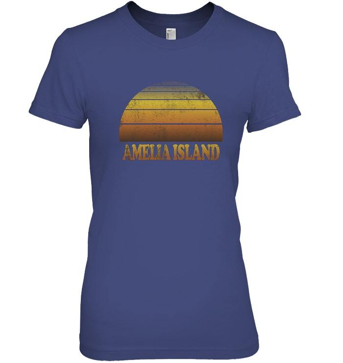 Amelia Island T Shirt Florida Clothes Adult Teen Kids Cool