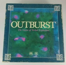 Outburst Game The Board Game of Verbal Explosions Complete 1988 - $12.19