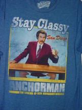 Stay Classy Anchorman The Legend of Ron Burbundy San Diego T-Shirt Size Med - $14.00