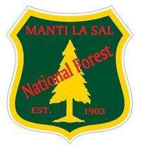 Manti La Sal National Forest Sticker R3270 You Choose Size - $1.45+