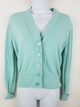 NEW J. Crew Cardigan Blue Light Sweater Cotton Blend Women's Size XS - $39.59