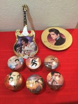 Elvis Presley Collection Hit Parade 6 MusicBox + 2 Plate Bradford Exchan... - $100.00
