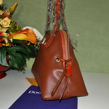 Dooney & Bourke Domed Pebble Leather Shoulder Bag image 3