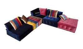 Soflex Phoenix Ultra Modern Multicolor Fabric Modular Sectional Sofa