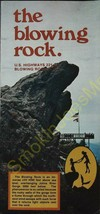 Vintage Travel Brochure The Blowing Rock North Carolina Johns River Gorge - $11.13