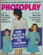 ORIGINAL Vintage September 1966 Photoplay Magazine Jackie Kennedy JFK - $24.74