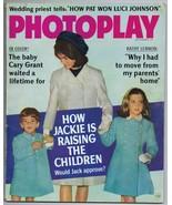 ORIGINAL Vintage September 1966 Photoplay Magazine Jackie Kennedy JFK - $24.74