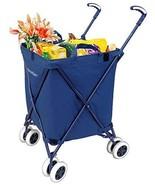 Versacart Folding Shopping Cart Transit Utility Cart - Transport Up to 1... - $74.97