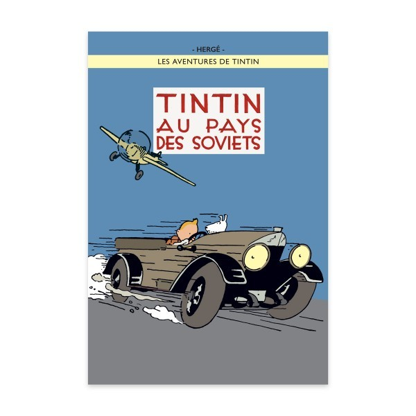 Tintin in the Land of the Soviets - Tintin Poster