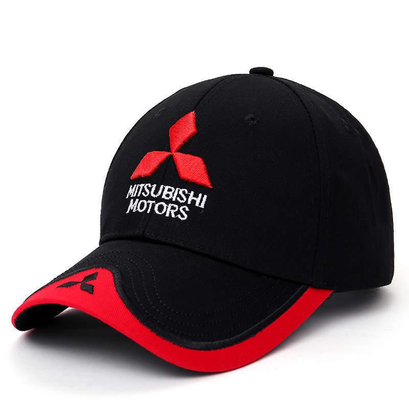 Moto gp hat mitsubishi baseball cap f1 team racing hat motorcycle hats trucker caps men women 57