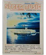 Sheet Music Magazine January 1983 Standard Piano/Guitar - $3.99