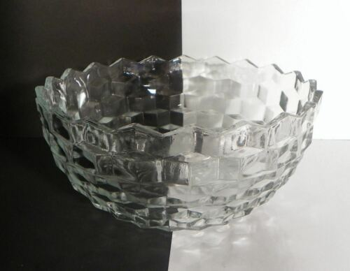 """Colony Whitehall Stacked Cubed Potato Salad Serving Bowl 9-1/4"""" Cubist - $15.79"""