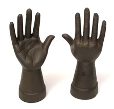 Set of Two Cast Iron Hand Ring Holders - $42.95