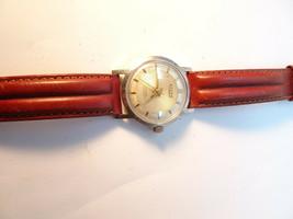 Vintage 1970'S Accro Textured Dial Permapower Windup Watch Runs - $125.00