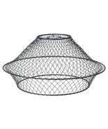 IKEA HORRED Pendant lamp shade, metal, black - $49.49