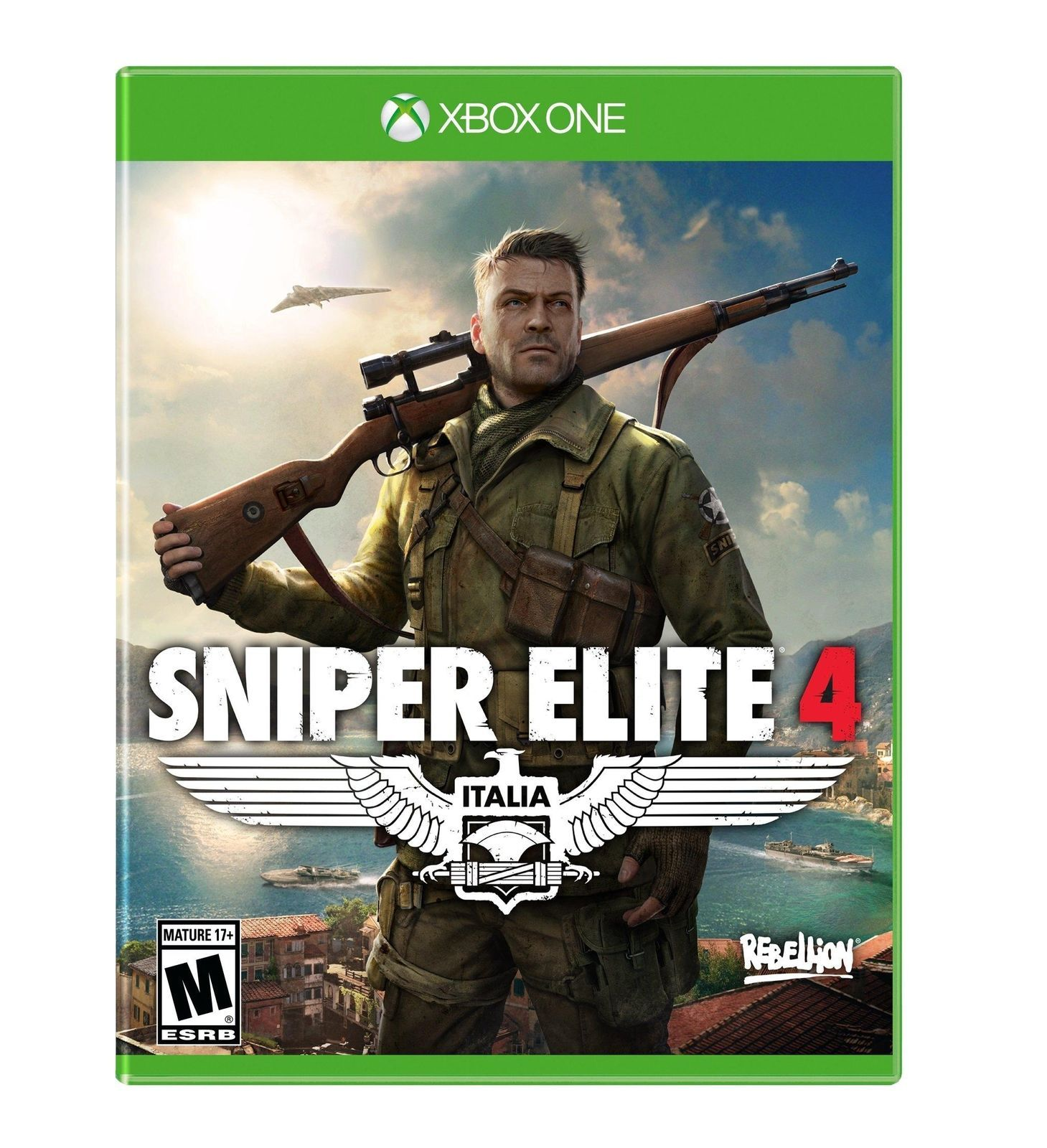 Sniper Elite 4 Xbox One Video Game [New]