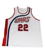 Moses Malone #22 Utah Stars New Men Basketball Jersey White Any Size - $44.99+