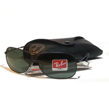Ray-Ban RB3367 Men Sunglasses Black Metal Frame New with Case and Cleani... - $121.25