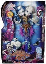 Monster High Great Scarrier Reef Peri & Pearl Serpentine Doll Set NEW NRFB - $34.55