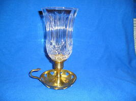 Homco Tiffany Glass PEG Votive Cup Candle Holder. - $10.00