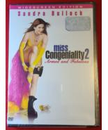 MISS CONGENIALITY 2- DVD- MOVIE- SANDRA BULLOCK- NEW- FREE SHIPPING - $9.99