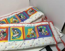 Vintage Mickey Mouse Crib Bumper - $24.75