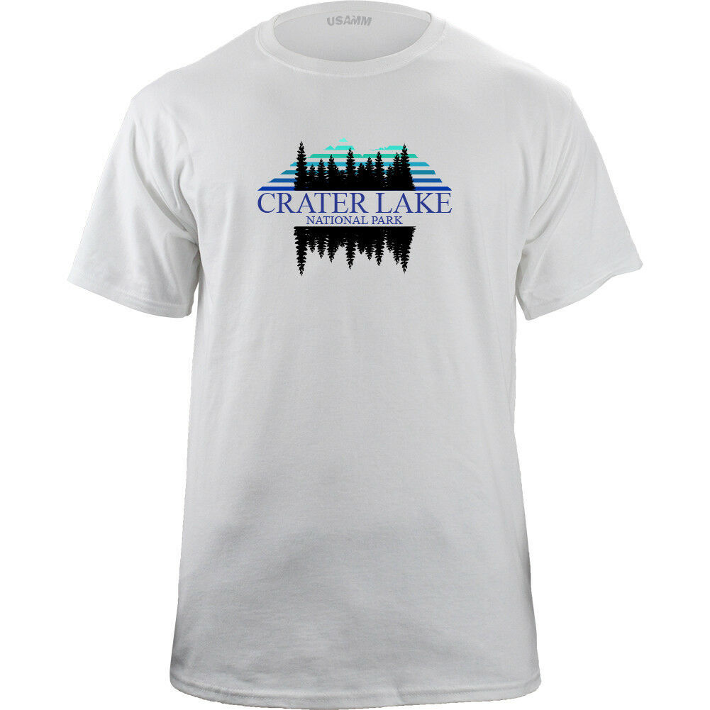 Retro Crater Lake National Park 80's T-Shirt image 4