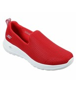 Skechers Shoes Red Go Walk Joy Women Sport Soft Casual Slipon Comfort Me... - $49.99